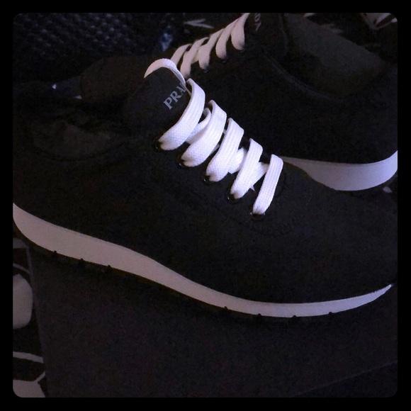 Prada Shoes | Nylon Trainer Sneaker